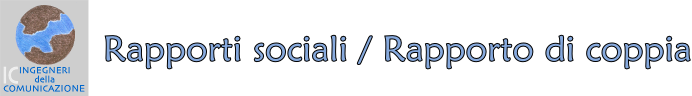 rapporti sociali - rapp coppia titolo pagina sito